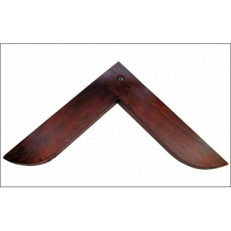Equerre bois branches de 15,5 cm