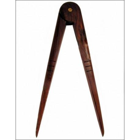 Compas en bois 25 cm