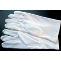 GANTS BLANCS simples 100% coton pour grandes mains d'homme