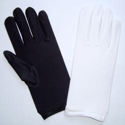 Lycra mat uni blanc ou noir