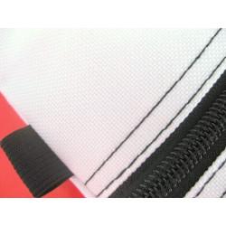 Sacoche blanche et noire