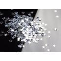 Confettis de table étoiles 0,8 cm  ARGENT