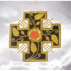 Tablier REAA 18ème degré croix seule