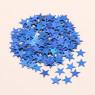 Confettis de table poussière d'étoiles TURQUOISE