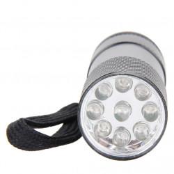 Mini torche 9 LEDs très puissante