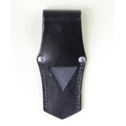 Porte épée en cuir noir