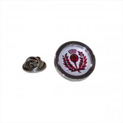Pin's Standard d'Ecosse motif tartan