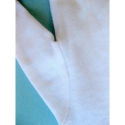 Gants blancs coton fin éco par 12 paires