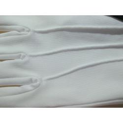 Lycra blanc ou noir à 3 nervures