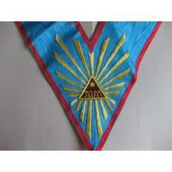 Sautoir VENERABLE REAA  avec Tétragramme