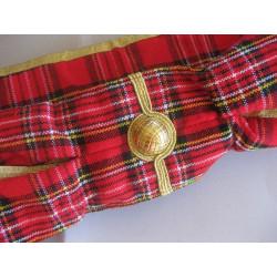 Cordon de maître en tartan Royal Steward