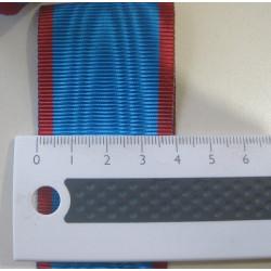 Ruban moiré REAA larg. 4 cm vendu au mètre