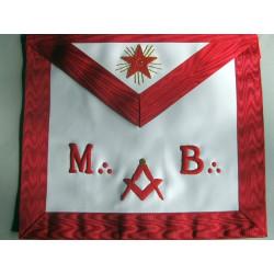 Tablier REAA MB + étoile