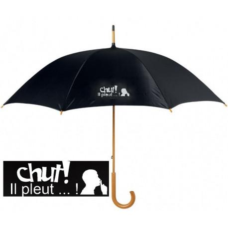 Grand parapluie CHUT IL PLEUT