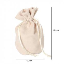 Pochette en suédine pour vos gants
