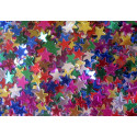 Confettis de table 1 cm ETOILES MULTICOLORES