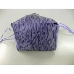 Pochette mauve pour vos gants