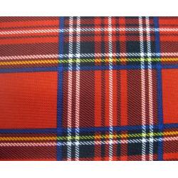 Chemin de table tissu tartan écossais