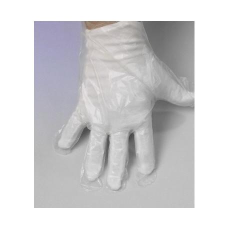 Sur-gants plastique de protection