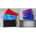 Masque tissu haut de gamme couleur type 3 plis