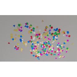 Confettis de table formes géométriques