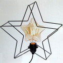 Grande étoile de loge électrique LED en métal 30,5 cm