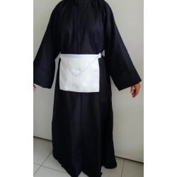 Robe noire GLFF avec ourlets finis