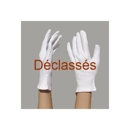 2 paires gants coton 180 g DECLASSES